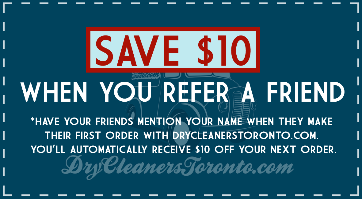 dry-cleaners-toronto-coupon-referral-program